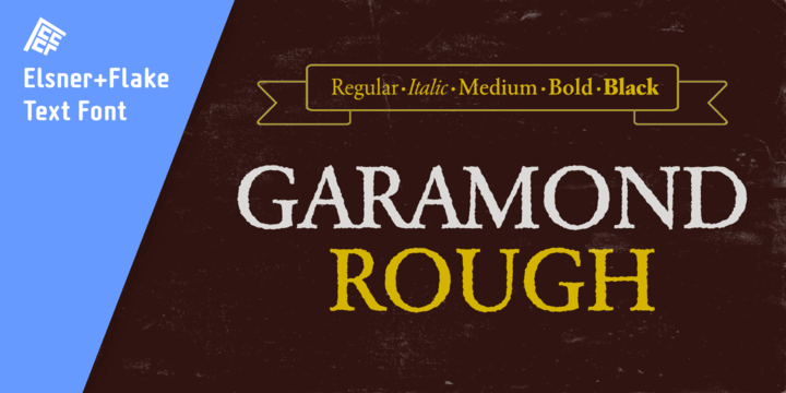 Garamond Book Condensed Bold