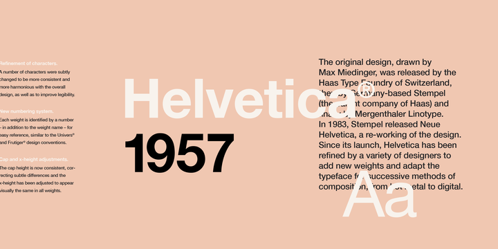 Helvetica | Webfont & Desktop font | MyFonts