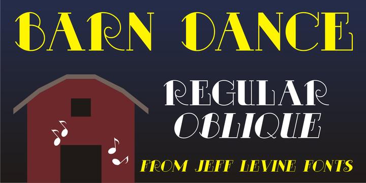 Barn Dance JNL