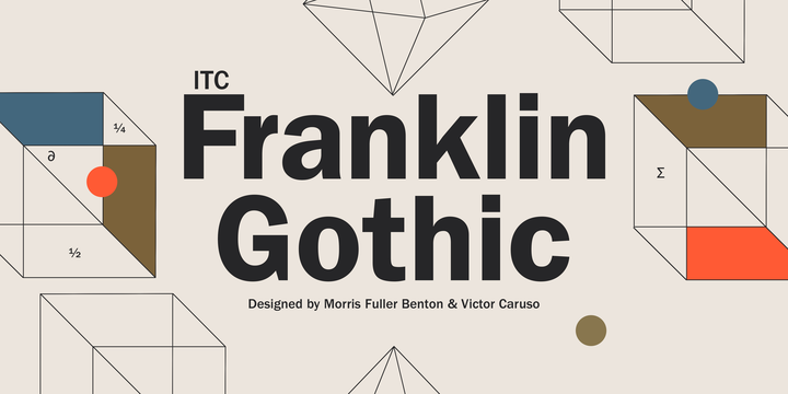 Itc Franklin Gothic Book Compressed