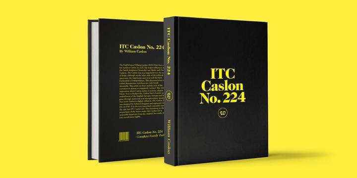 ITC Caslon No  224   Webfont & Desktop font   MyFonts