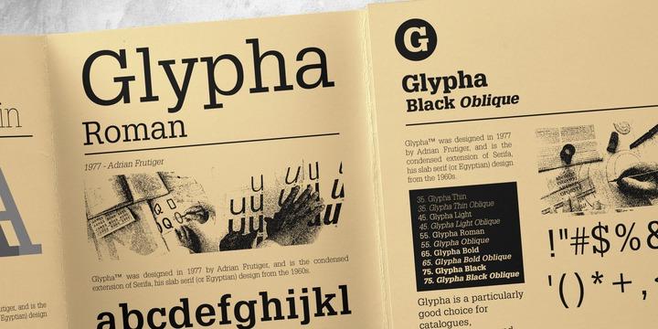 glypha font family