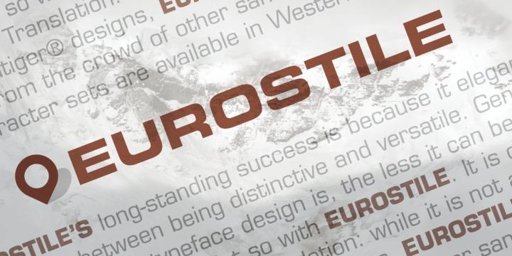 eurostile extended free download