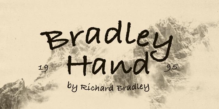 Richard Bradley « MyFonts