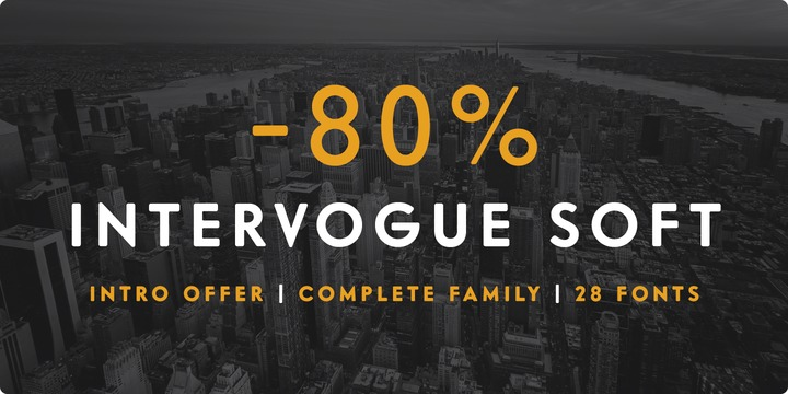 Download Intervogue Soft Font Family From Miller Type Foundry