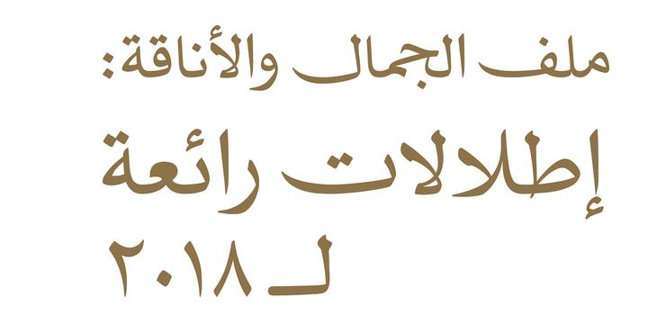 JH Naskh Expanded | Webfont & Desktop font | MyFonts