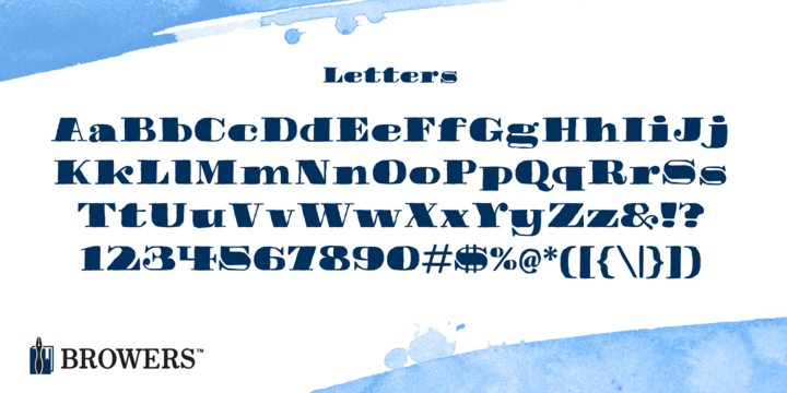 michael browers myfonts