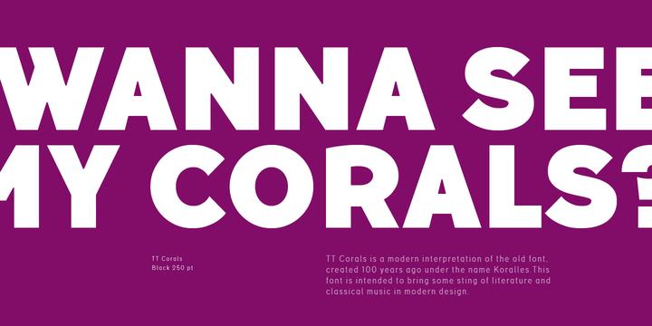 TT Corals   Webfont & Desktop font   MyFonts
