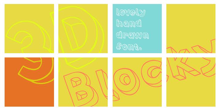3D Blocky | Webfont & Desktop font | MyFonts