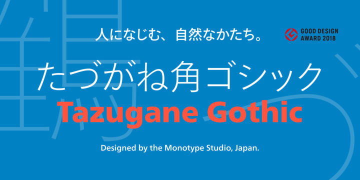 Tazugane Gothic   Desktop font   MyFonts