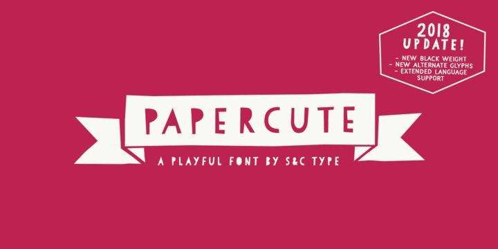 PaperCute | Webfont & Desktop font | MyFonts