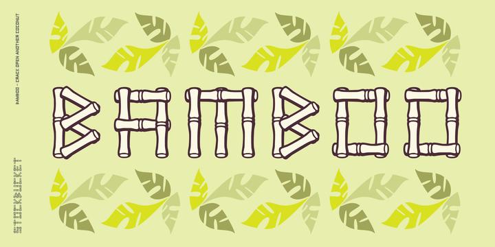 Bamboo | Desktop font | MyFonts