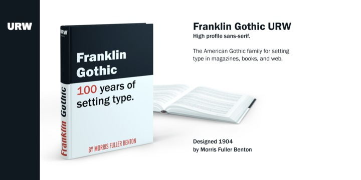 Franklin Gothic | Webfont & Desktop font | MyFonts