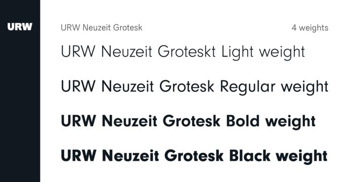 Neuzeit Grotesk   Webfont & Desktop font   MyFonts