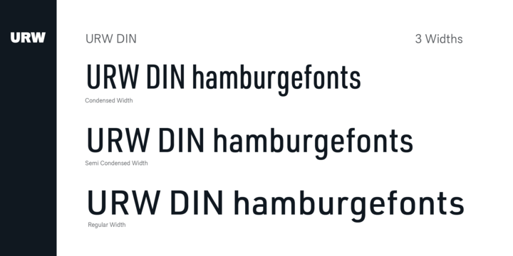 Download URW DIN Font Family From URW