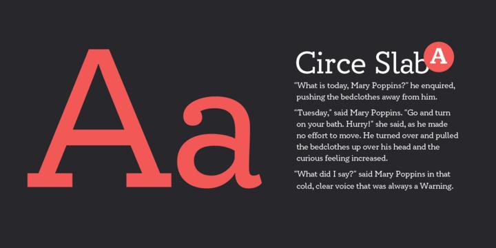 Circe Slab | Webfont & Desktop font | MyFonts