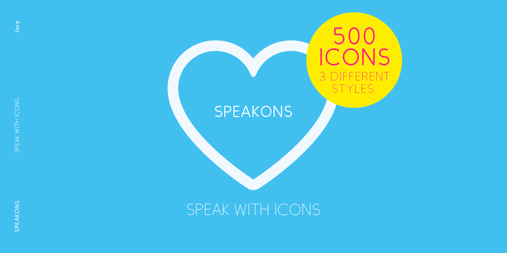 Download Speakons Font Family From Alex Schnaible