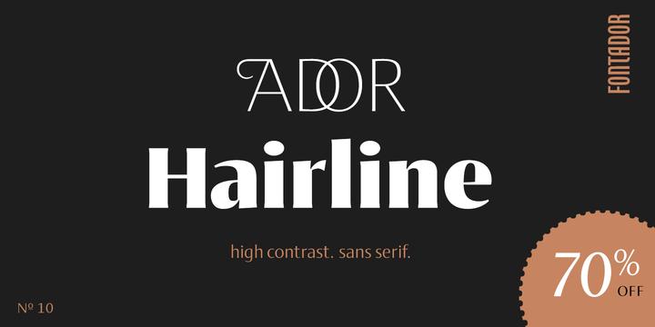Ador Hairline   Webfont & Desktop font   MyFonts