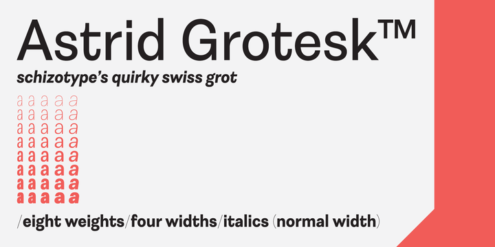 Astrid Grotesk | Webfont & Desktop font | MyFonts