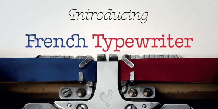 French Typewriter | Webfont & Desktop font | MyFonts