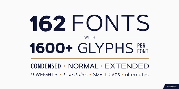 Artegra Sans | Webfont & Desktop font | MyFonts