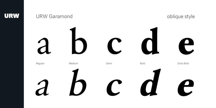 URW Garamond | Webfont & Desktop font | MyFonts