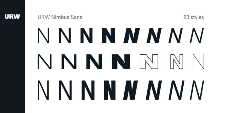 Nimbus Sans | Webfont & Desktop font | MyFonts