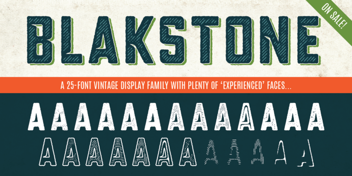 Download Blakstone Font Family From Albatross