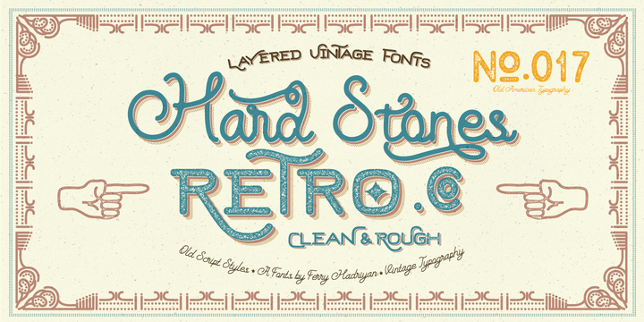 Download Hard Stones Pro Font Family From FHFont