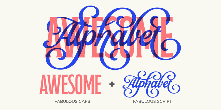 Download Fabulous Script Font Family From Lián Types