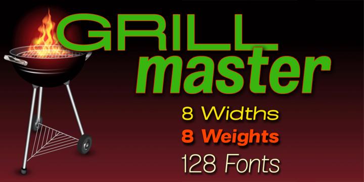 Grillmaster   Webfont & Desktop font   MyFonts