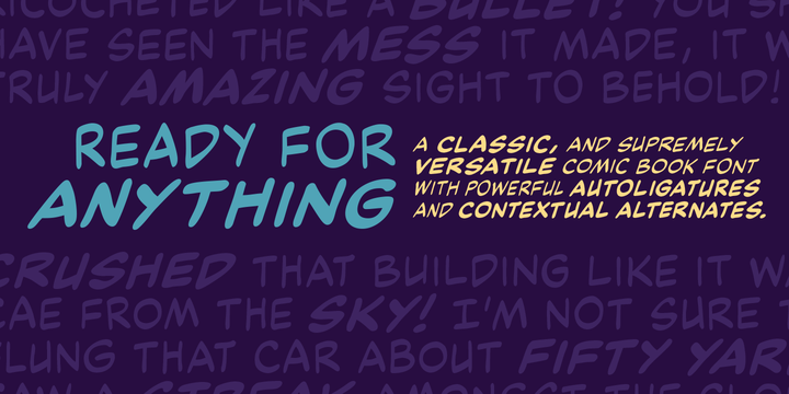 Ready For Anything BB | Desktop font | MyFonts