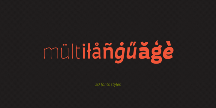 Download Auster Rounded Font Family From Resistenza