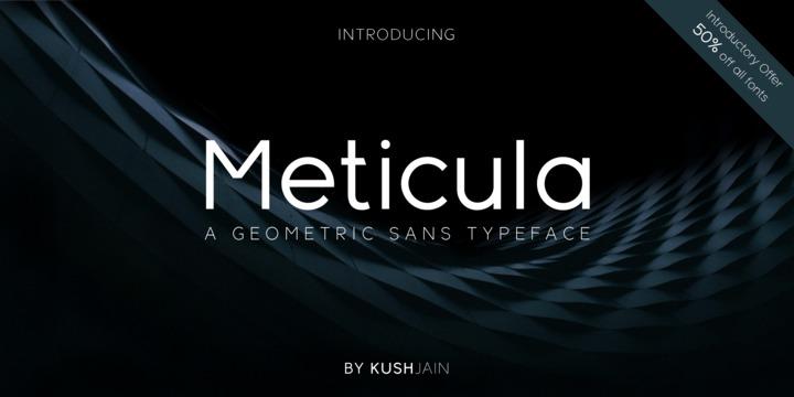 Download Meticula Font Family From KushJain