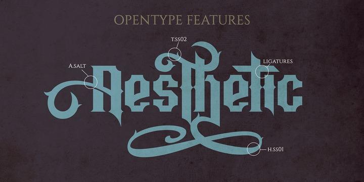 Aesthetic Font Webfont Desktop Myfonts