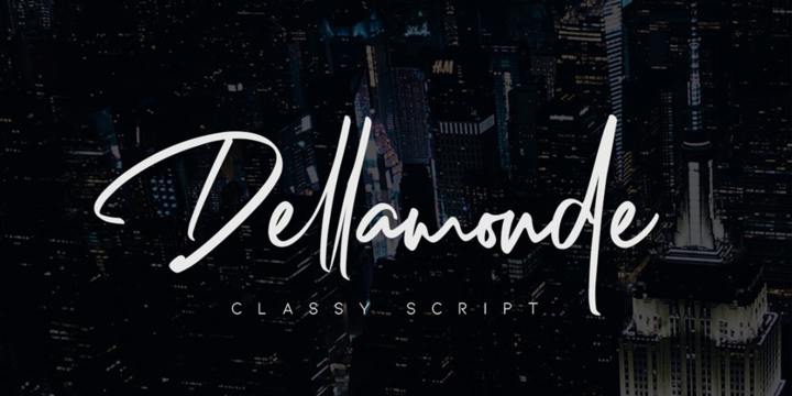Download Dellamonde Font Family From MlkWsn