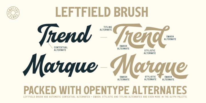 Leftfield | Webfont & Desktop font | MyFonts