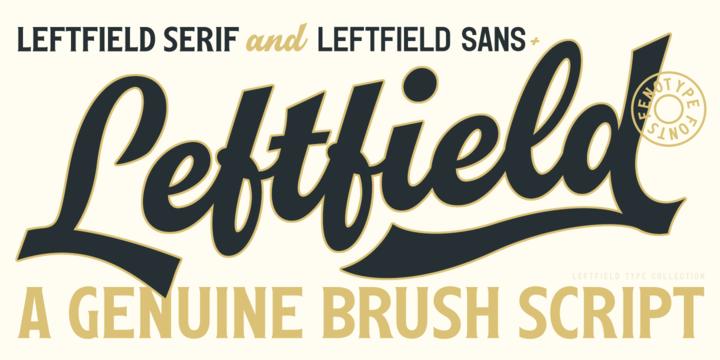 Leftfield Poster