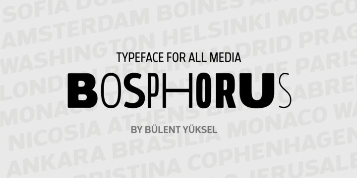 Bosphorus | Webfont & Desktop font | MyFonts