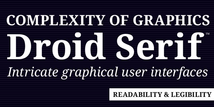 Droid Serif Pro | Webfont & Desktop font | MyFonts