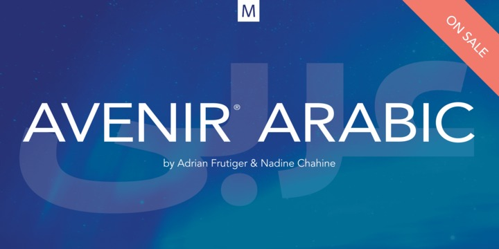 Download Avenir Arabic Font Family From Linotype