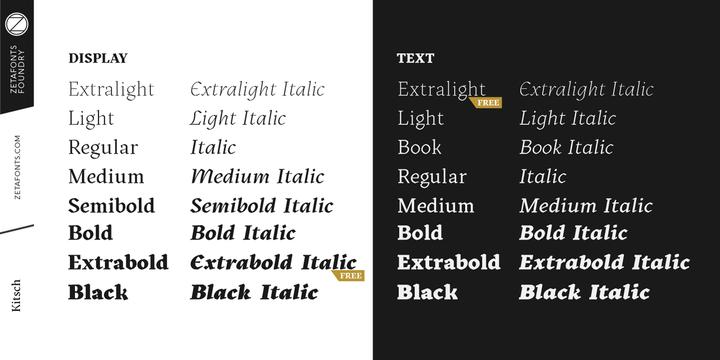 Kitsch | Webfont & Desktop font | MyFonts