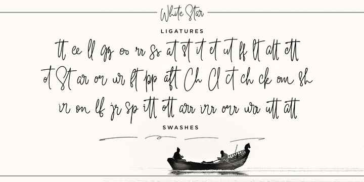 Download White Star Font Family From Din Studio