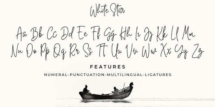 Julia Ershova: handwritten font