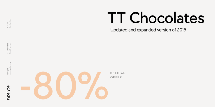 TT Chocolates | Webfont & Desktop font | MyFonts