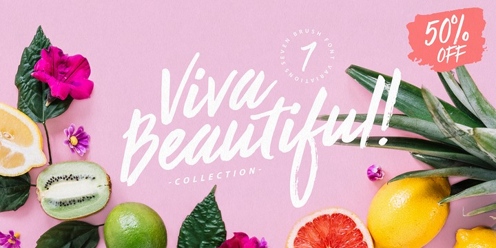 Download Viva Beautiful Collection Font Family From