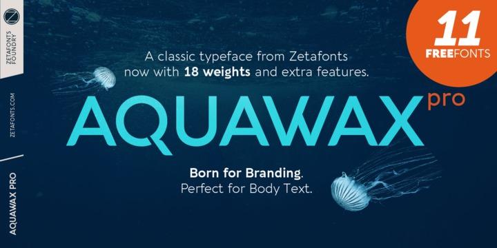 Aquawax Pro Poster