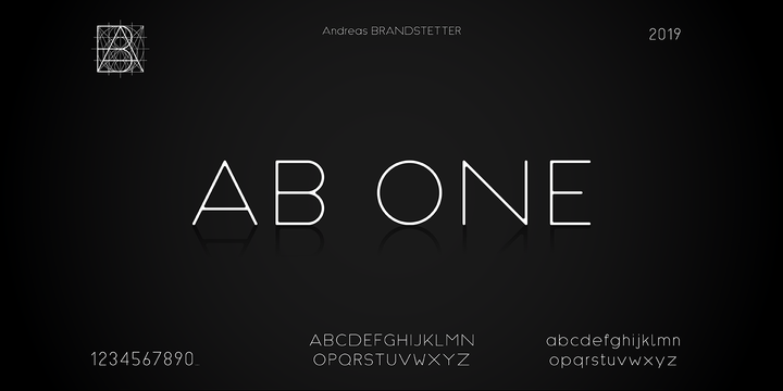 Ab one Font Ailesi