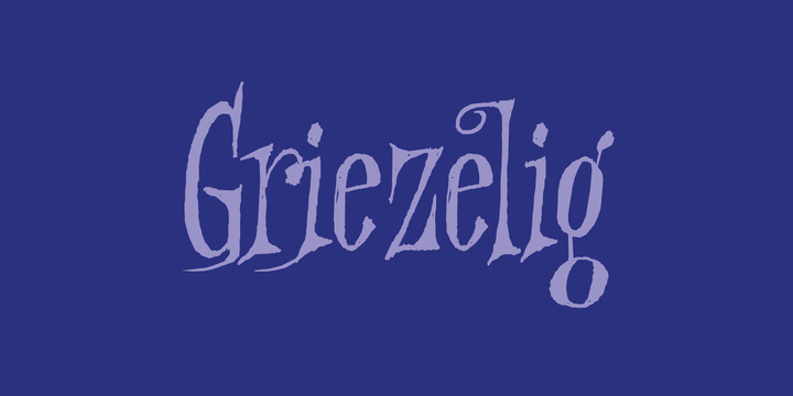 Download Griezelig Font Family From Hanoded - Yvette Davydova