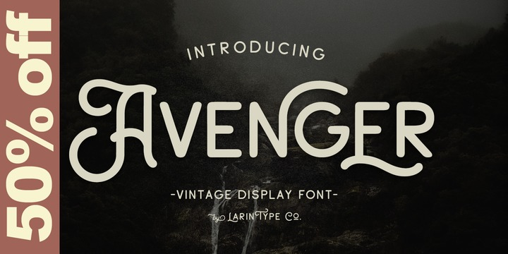Download Avenger Font Family From Larin Type Co ~ Nina Yegorova
